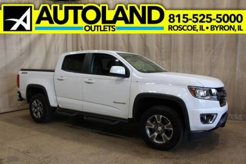 2017 Chevrolet Colorado for sale at AutoLand Outlets Inc in Roscoe IL