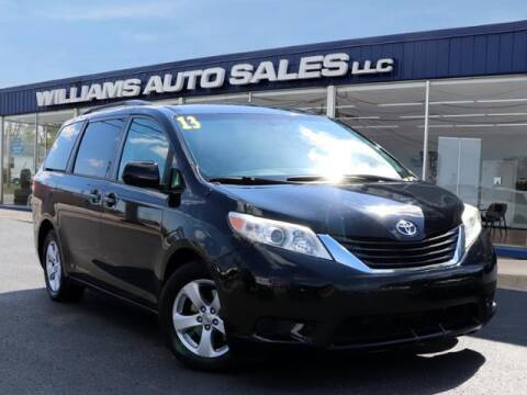 2013 Toyota Sienna for sale at Williams Auto Sales, LLC in Cookeville TN