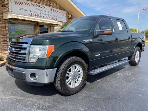 2014 Ford F-150 for sale at Browning's Reliable Cars & Trucks in Wichita Falls TX