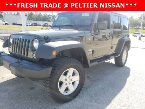 2015 Jeep Wrangler Unlimited for sale at TEX TYLER Autos Cars Trucks SUV Sales in Tyler TX