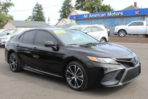 2018 Toyota Camry for sale at All American Motors in Tacoma WA