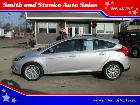 2013 Ford Focus for sale at Smith and Stanke Auto Sales in Sturgis MI