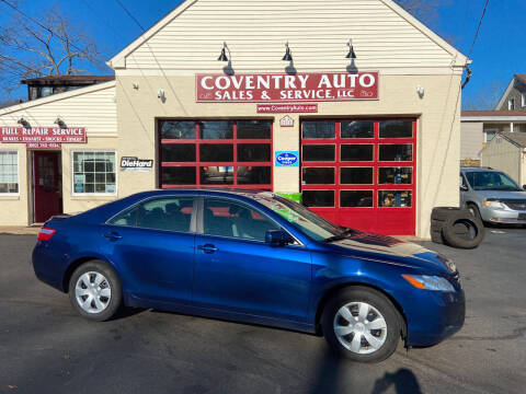 2009 Toyota Camry for sale at COVENTRY AUTO SALES in Coventry CT