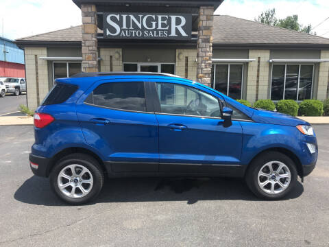 2020 Ford EcoSport for sale at Singer Auto Sales in Caldwell OH