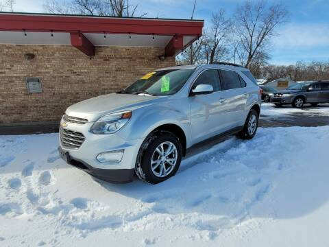 2017 Chevrolet Equinox for sale at Murdock Used Cars in Niles MI