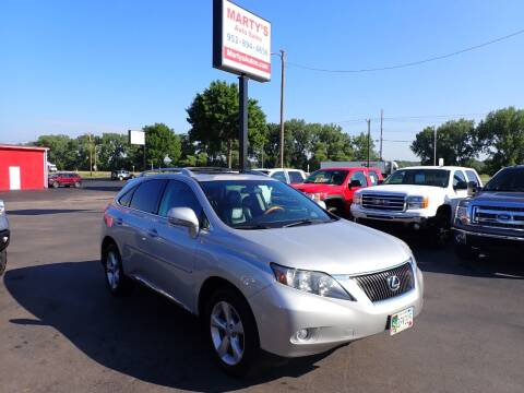 2010 Lexus RX 350 for sale at Marty's Auto Sales in Savage MN
