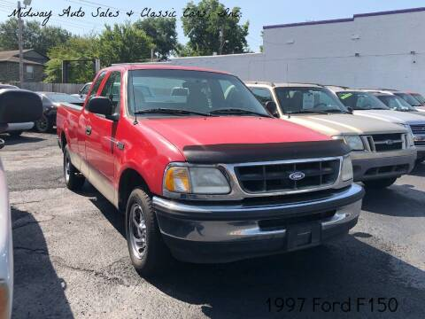 1997 Ford F-150 for sale at MIDWAY AUTO SALES & CLASSIC CARS INC in Fort Smith AR