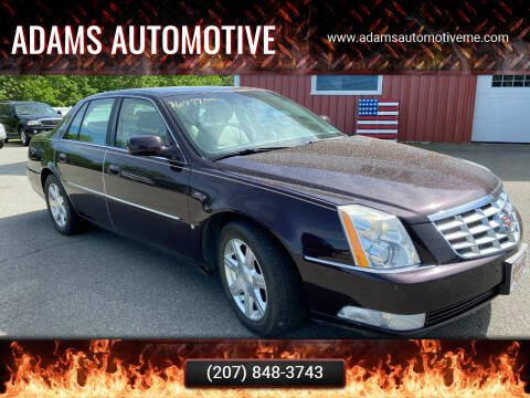 2008 Cadillac DTS for sale at Adams Automotive in Hermon ME