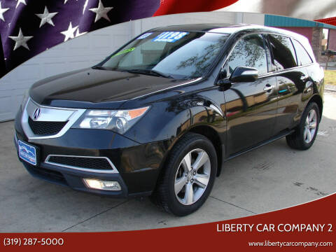 2011 Acura MDX for sale at Liberty Car Company - II in Waterloo IA