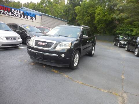 2010 GMC Acadia for sale at Uptown Auto Sales in Charlotte NC