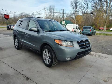 2007 Hyundai Santa Fe for sale at John's Auto Sales & Service Inc in Waterloo NY