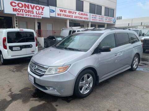 2013 Honda Odyssey for sale at Convoy Motors LLC in National City CA