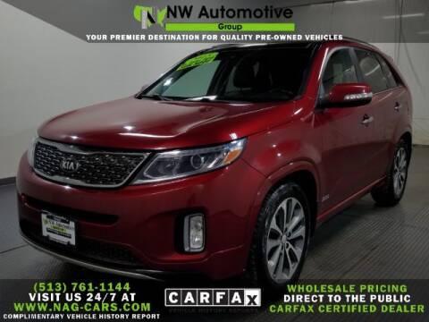 2015 Kia Sorento for sale at NW Automotive Group in Cincinnati OH