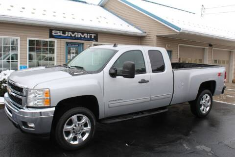2013 Chevrolet Silverado 2500HD for sale at Summit Motorcars in Wooster OH