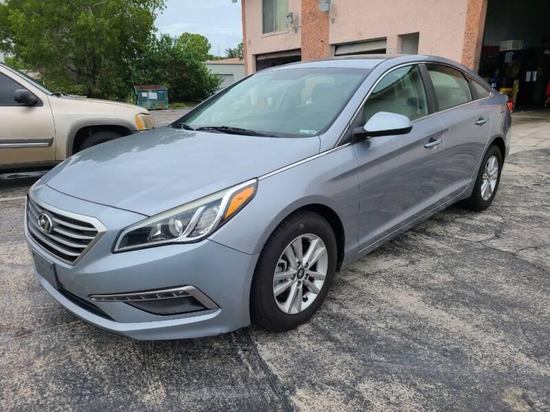 2015 Hyundai Sonata for sale at CAR-RIGHT AUTO SALES INC in Naples FL