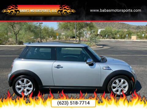 2009 MINI Cooper for sale at Baba's Motorsports, LLC in Phoenix AZ