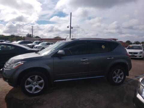 2007 Nissan Murano for sale at BIG 7 USED CARS INC in League City TX