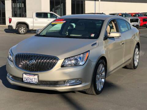 2014 Buick LaCrosse for sale at Dow Lewis Motors in Yuba City CA