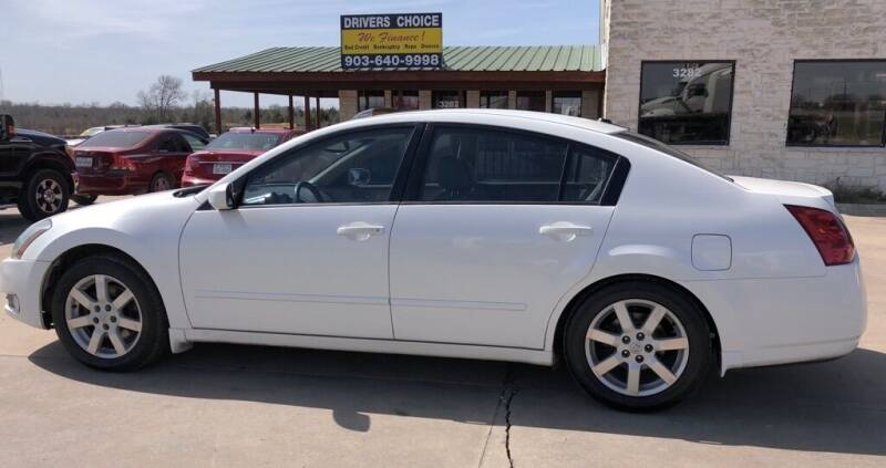 2004 Nissan Maxima for sale at Driver's Choice in Sherman TX