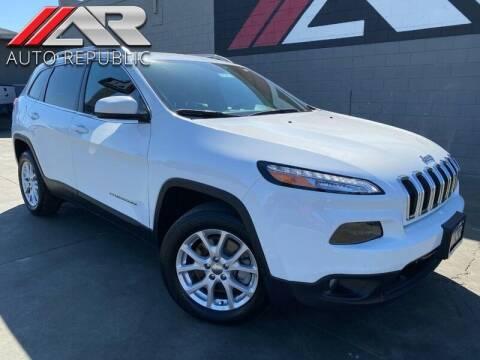 2017 Jeep Cherokee for sale at Auto Republic Fullerton in Fullerton CA