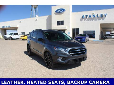 2019 Ford Escape for sale at STANLEY FORD ANDREWS in Andrews TX