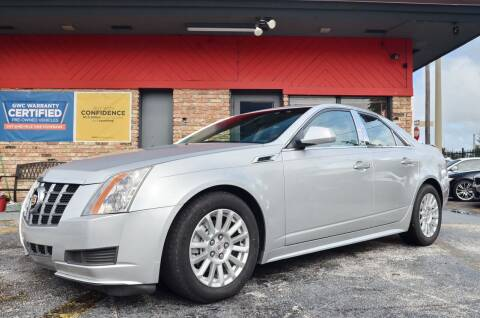 2012 Cadillac CTS for sale at ALWAYSSOLD123 INC in North Miami Beach FL