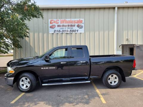 2011 RAM Ram Pickup 1500 for sale at C & C Wholesale in Cleveland OH