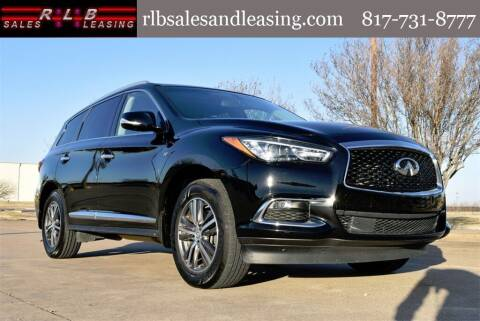 2017 Infiniti QX60 for sale at RLB Sales and Leasing in Fort Worth TX