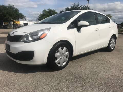 2012 Kia Rio for sale at Talisman Motor City in Houston TX