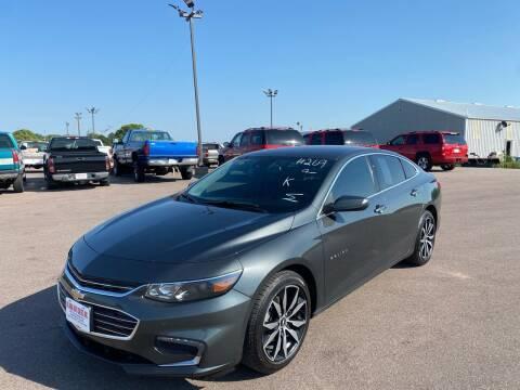 2016 Chevrolet Malibu for sale at De Anda Auto Sales in South Sioux City NE