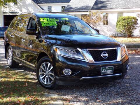 2015 Nissan Pathfinder for sale at The Auto Barn in Berwick ME
