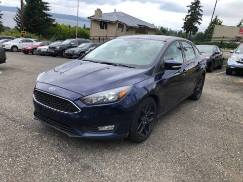 2016 Ford Focus for sale at KARMA AUTO SALES in Federal Way WA