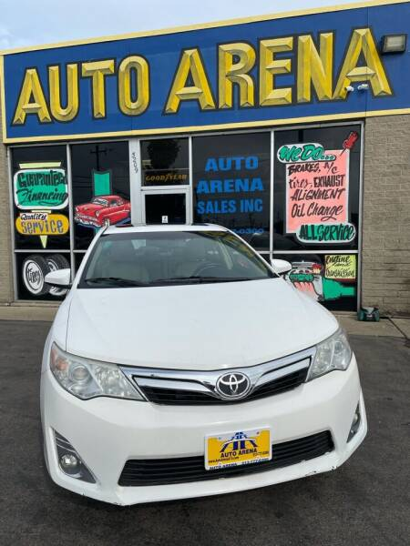 2012 Toyota Camry for sale at Auto Arena in Fairfield OH