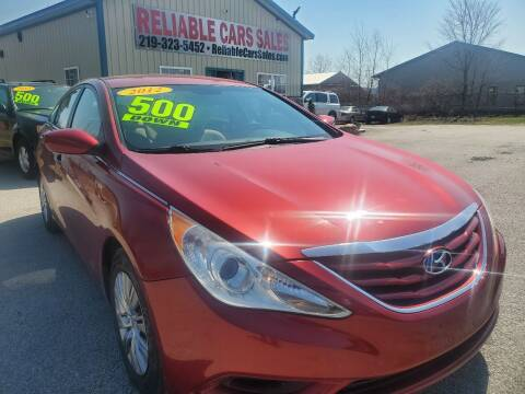 2012 Hyundai Sonata for sale at Reliable Cars Sales in Michigan City IN