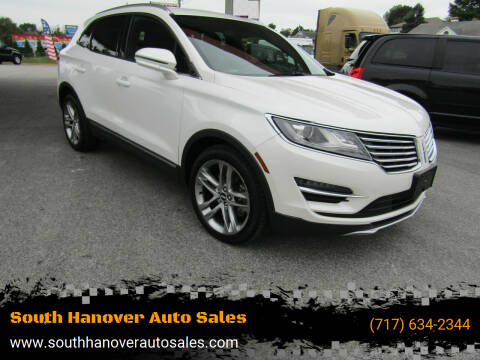 2015 Lincoln MKC for sale at South Hanover Auto Sales in Hanover PA
