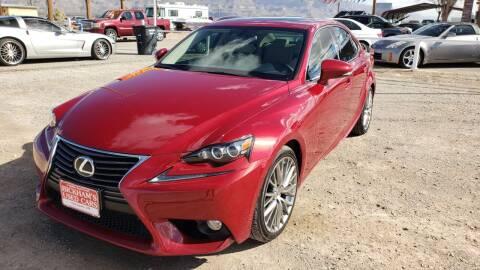 2014 Lexus IS 250 for sale at Bickham Used Cars in Alamogordo NM