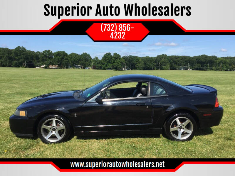 2003 Ford Mustang SVT Cobra for sale at Superior Auto Wholesalers in Burlington City NJ