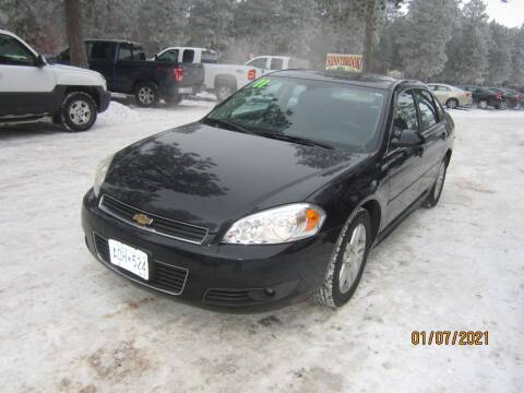 2011 Chevrolet Impala for sale at SUNNYBROOK USED CARS in Menahga MN