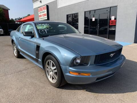 2006 Ford Mustang for sale at Legend Auto Sales in El Paso TX