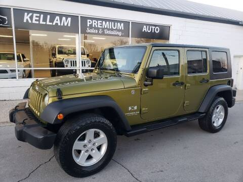 2008 Jeep Wrangler Unlimited for sale at Kellam Premium Auto Sales & Detailing LLC in Loudon TN