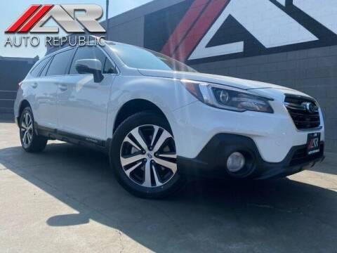 2019 Subaru Outback for sale at Auto Republic Fullerton in Fullerton CA