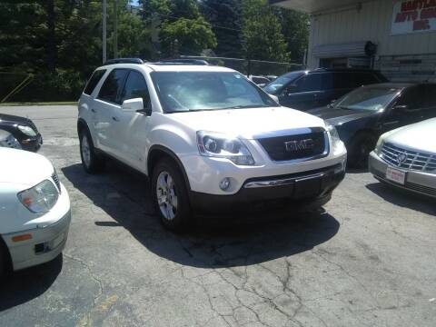 2009 GMC Acadia for sale at Six Brothers Auto Sales in Youngstown OH