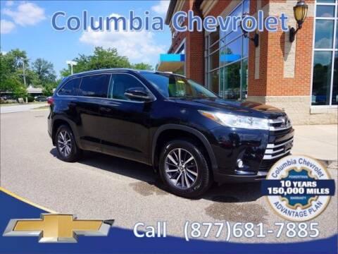 2018 Toyota Highlander for sale at COLUMBIA CHEVROLET in Cincinnati OH