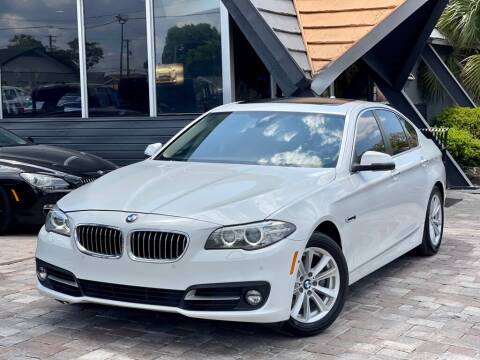2016 BMW 5 Series for sale at Unique Motors of Tampa in Tampa FL