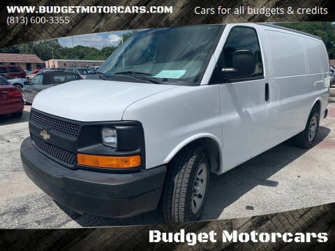 2012 Chevrolet Express Cargo for sale at Budget Motorcars in Tampa FL
