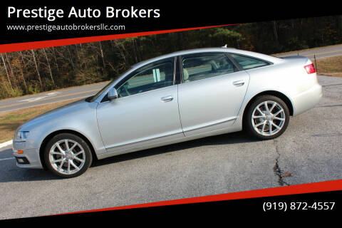 2009 Audi A6 for sale at Prestige Auto Brokers in Raleigh NC