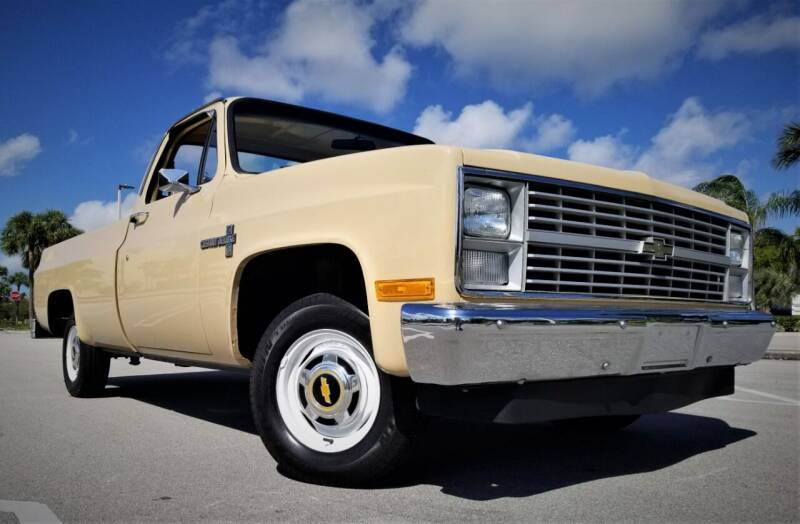 1983 Chevrolet C/K 10 Series for sale at Progressive Motors in Pompano Beach FL