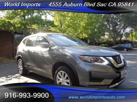 2018 Nissan Rogue for sale at World Imports in Sacramento CA