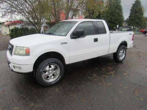 2004 Ford F-150 for sale at Triple C Auto Brokers in Washougal WA