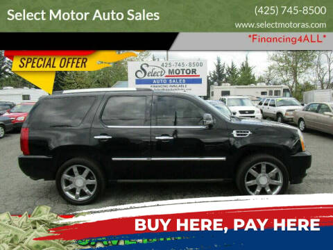 2007 Cadillac Escalade for sale at Select Motor Auto Sales in Lynnwood WA